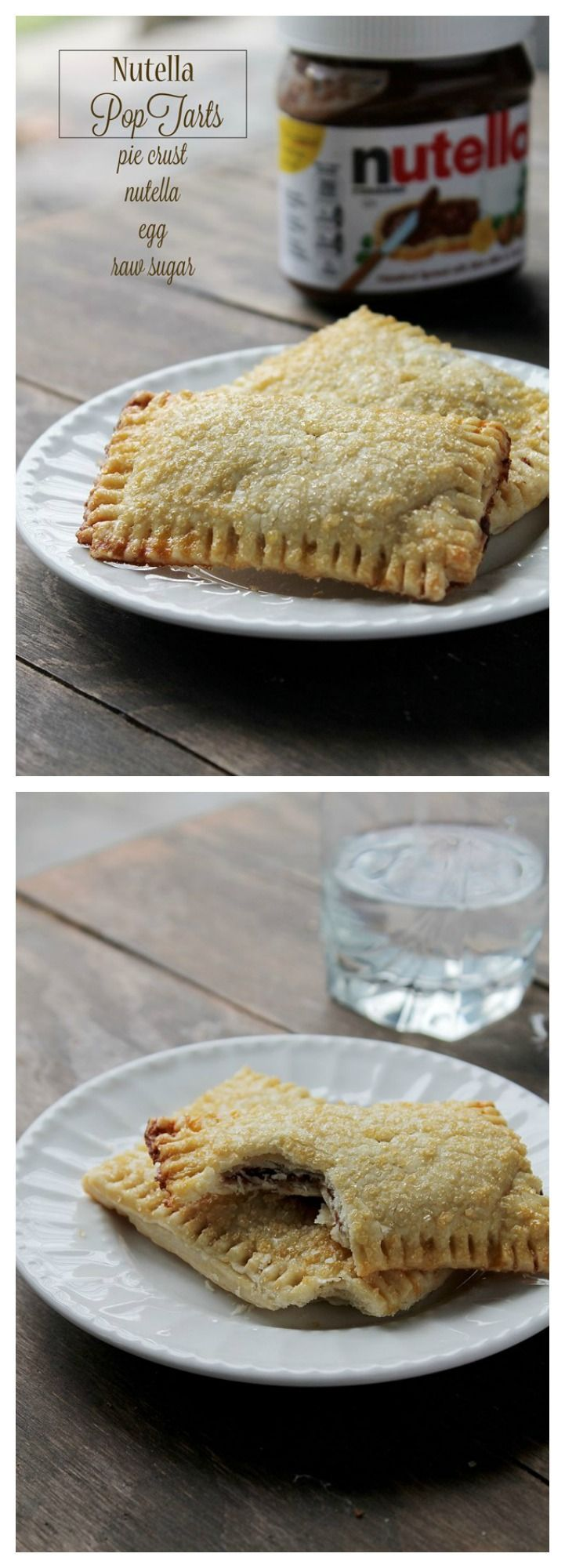 Super easy Nutella Pop Tarts that you can make at home!