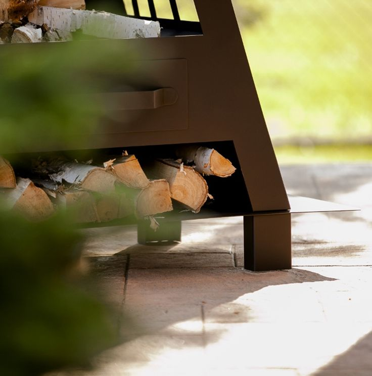 Cheminée de jardin Marina, pour réchauffer vos soirées !