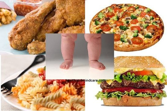 Childhood obesity - Role of Mother, Causes, Future Health Problems
