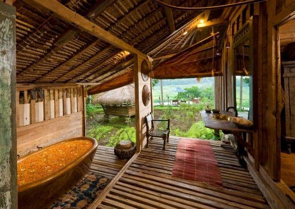 Bambu Indah Resort on the Indonesian island of Bali