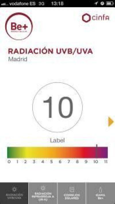 Cinfa lanza una aplicación para conocer los índices de radiación ultravioleta
