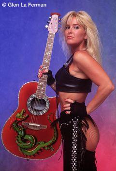Lita Ford Red Guitar