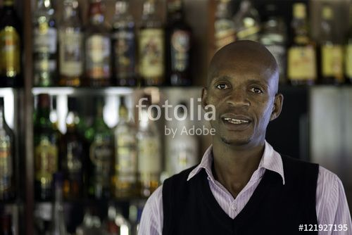 "Download the royalty-free photo ""Working at the bar"" created by ricocostix at the lowest price on Fotolia.com. Browse our cheap image bank online to find the perfect stock photo for your marketing projects!"