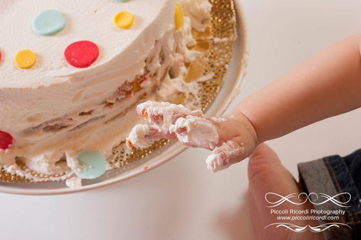 Servizio Fotografico Cake Smash Milano | Fotografo Famiglia Milano | Primo compleanno smash cake