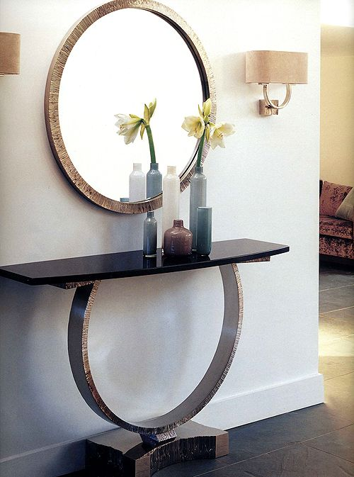 Great Taylor Llorente ART OM FREE STANDING CONSOLE TABLE