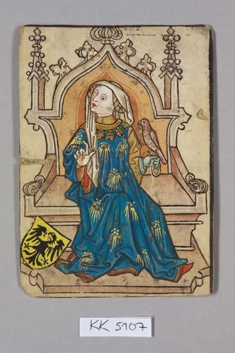 Queen, House of Luxembourg: Elisabeth of Habsburg (1436–1505) Ladislaus's sister.  A VERY specific image. A 1973 study of Elisabeth's remains revealed that she most likely had spinal tuberculosis at a young age, which deformed her skeleton: s-shaped spine, misaligned jaws, head cocked to the right, deformed thorax. The permanent tilt of her head led to stunted development of the right side of her face. She bore 13 children, 11 of whom survived to adulthood. 4 of her sons were crowned as…