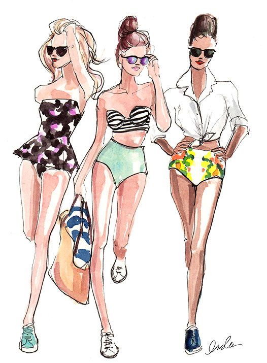 Fashion illustration: