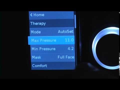 ▶ ResMed AirSence10 (Enter the clinical menu) - YouTube