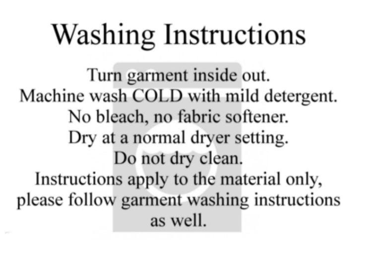 Htv Washing Instructions Cricut Htv Cricut Fabric Softener