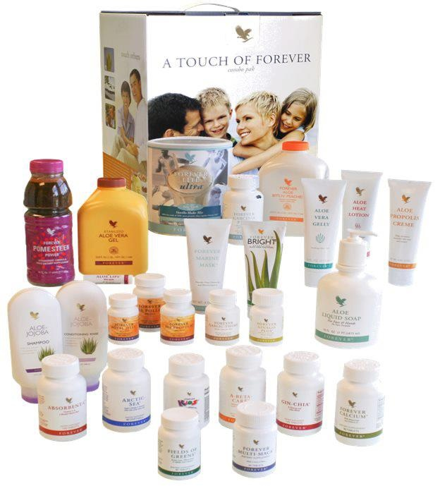 In one combo pack from Forever Living you can have full set of Aloe Vera products, from Aloe Vera gel to toothpaste . If you're thinking about family, that's the size that fits them all. See the selection of products on:    http://greenpowerleader.com/