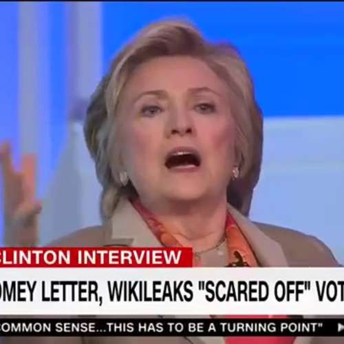 """HRC: Hillary Clinton on Tuesday blamed FBI Director James Comey for her election loss to President Donald Trump. Clinton was asked during an interview at a """"Women for Women International"""" conference in New York City why she believes she lost to Trump. The former Democrat presidential nominee first said that she takes personal responsibility for her loss, before blaming others. """"I was on the way to winning until the combination of Jim Comey's letter on Oct. 28 and Russian WikiLea..."""