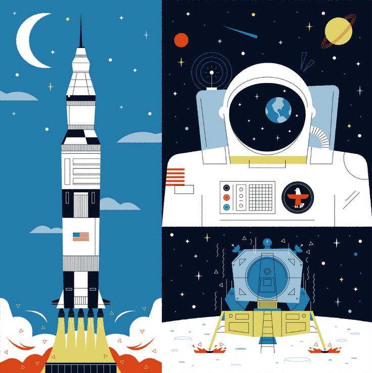 moon landing 2019 funny saiditnet - 736×737