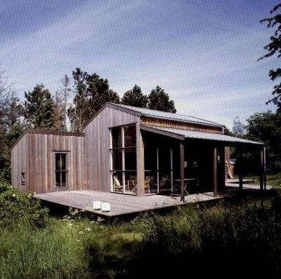 Danish cabin designed by architects Hanne Dalsgaard and Henrik Jeppesen
