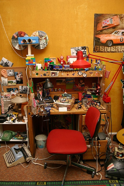 """Detail of set of Stephane's childhood bedroom from Michel Gondry's """"The Science of Sleep"""""""