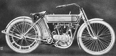 histoire Harley Davidson 1910 1919