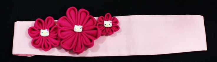 Pink Hello Kitty Headband