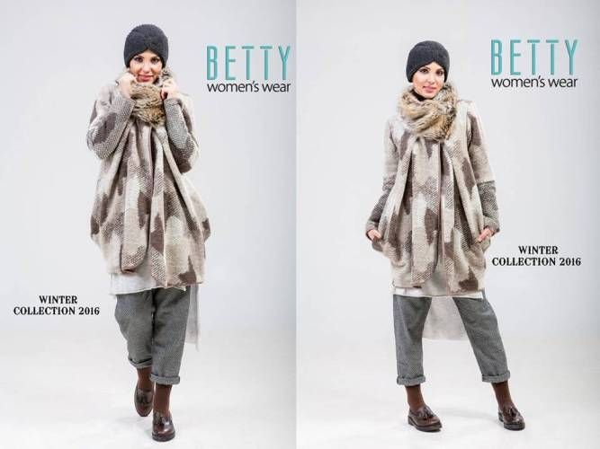 neutral hijab winter style