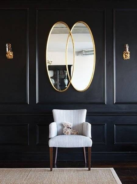 1000 ideas about black wall decor on pinterest black for Famous black interior designers