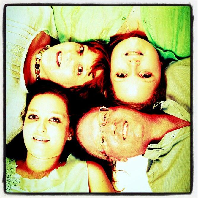 Family studio shoot