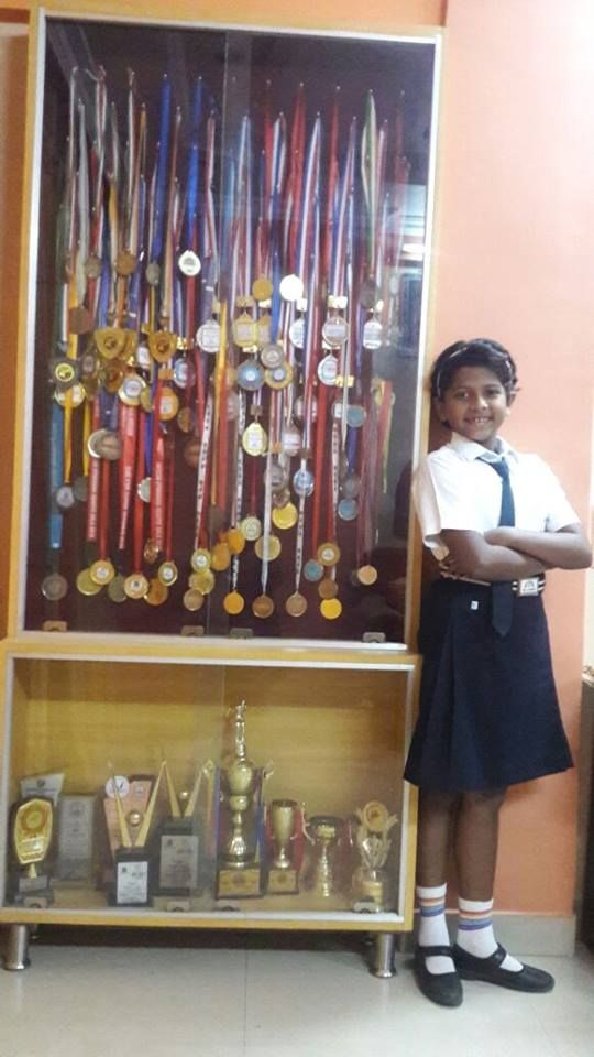 It is a moment of celebration for all of us at Rainbow International School, Thane as Raghavi has completed her tally of 100 medals in swimming in this academic year and has also won the championship trophy.Congratulations Raghavi for achieving 100 medals in a year.We are proud of you. #CBSESchoolsinThane #CBSESchoolinThane #CBSESchools #Thane #ThaneCityCBSESchools #MumbaiCBSESchools #TopCBSESchoolsinThane #BestCBSESchoolsinThane #PreschoolsinThane #ThanePreschools #Education…