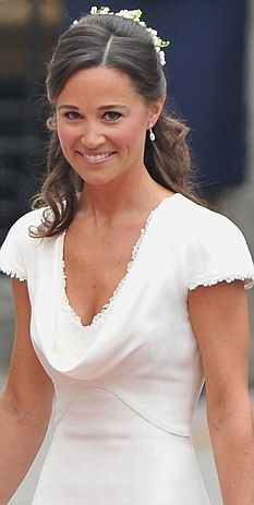 Pippa Middleton sprang to prominence for her bridesmaid gown at sister Kate Middletons marriage to Prince William.
