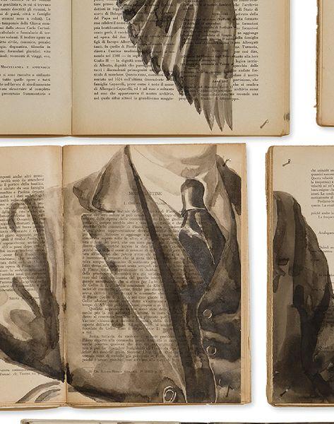 EKA-01 Biblioteca Wallpaper by Ekaterina Panikanova