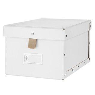 Box Tamp Bred Vit