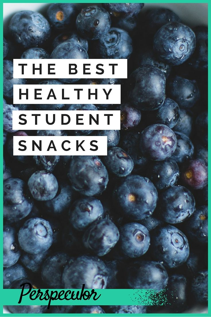 Guilty of too many junk snacks while you're studying? Fix that now with these easy, healthy snacks that are perfect for students.