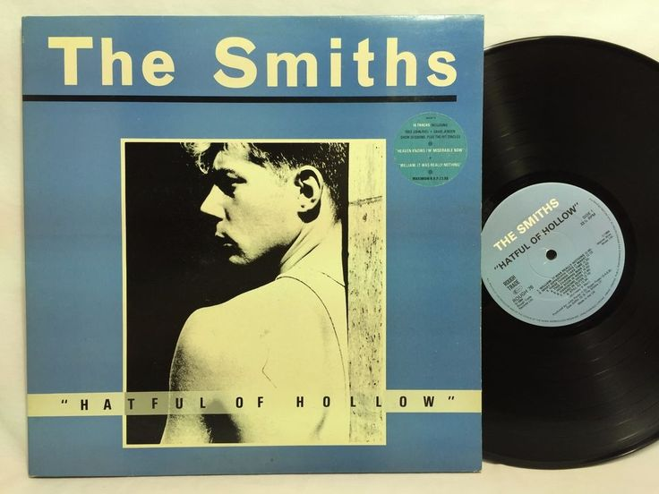 #TheSmiths Hatful Of Hollow Vinyl A1/B3 LP 1984 UK Album Rough Trade ROUGH 76