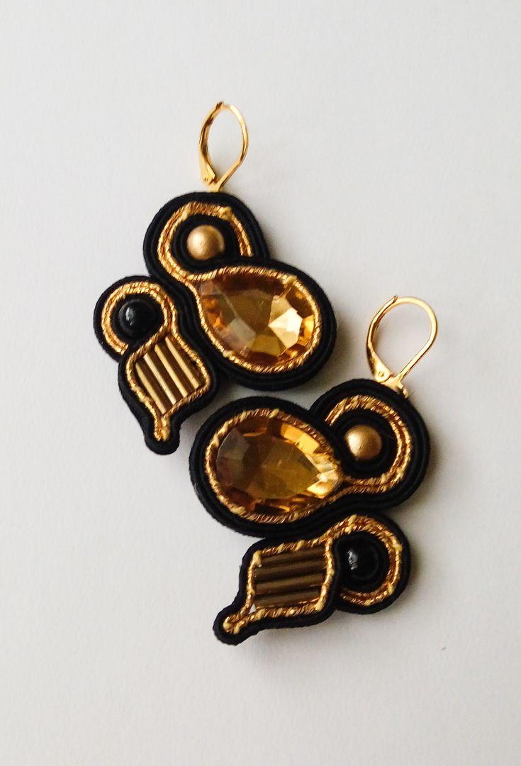 #soutache #sutasz #earrings #kolczyki