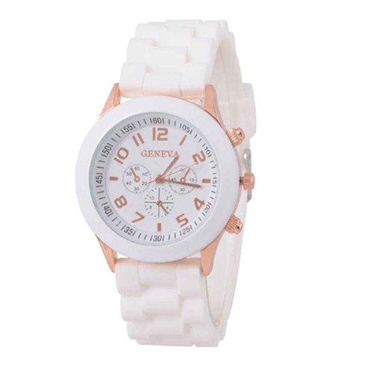 JECKSION luxury watches women Silicone Rubber Jelly Gel Quartz Analog Sports Women Wrist Watch