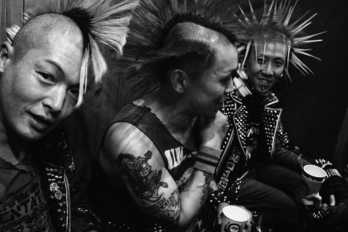 Punk in translation: de cuero y con cresta por el sol naciente