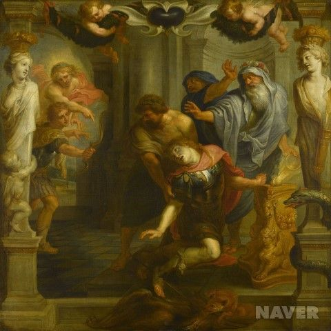 아킬레우스의 죽음