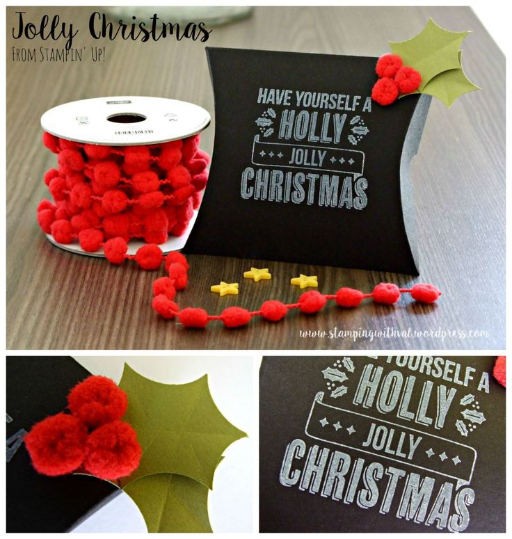 Stampin' Up! - Holly Jolly Christmas - Stamping With Val - Valerie Moody; Independent Stampin' Up! Demonstrator.