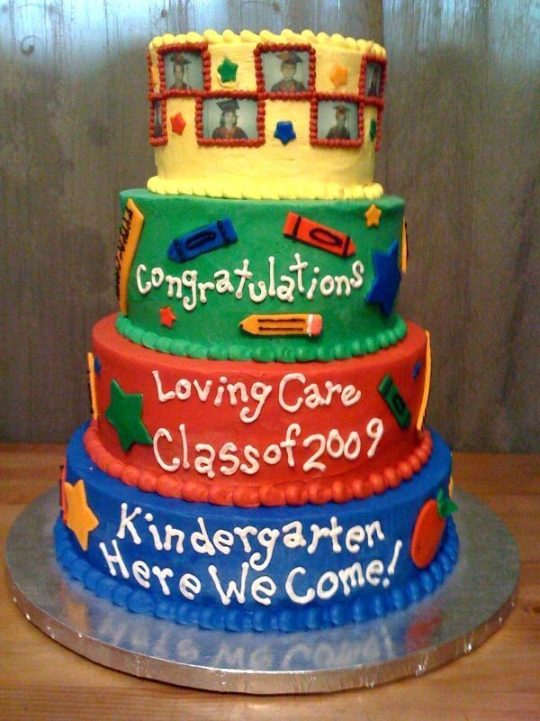 42 best kindergarten grad cakes images on Pinterest ...