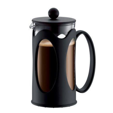 Bodum New Kenya 12-Ounce Coffee Press, Black http://french-press-coffeemaker.blogspot.com #bodumkenya #coffeepress