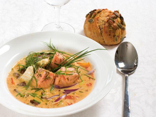 Fisksoppa (kock Helena Nyblom)