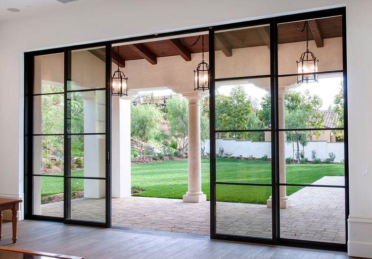 Best 25 basement doors ideas on pinterest basement for Steel entry door with sliding window
