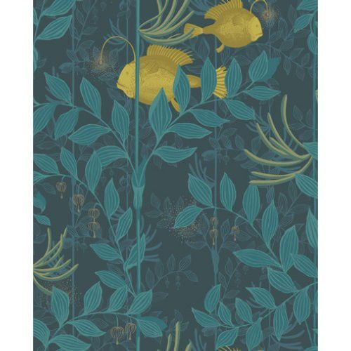 Cole & Son NAUTILUS DARK BLUE Wallpaper