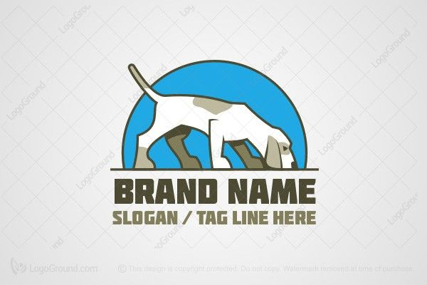 Logo for sale: Sniffer Dog Logo