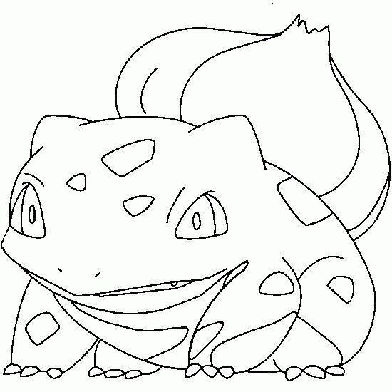 bulbasaur free coloring page coloring coloring