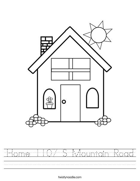 70 best house coloring pages for applique or quilt blocks images ...