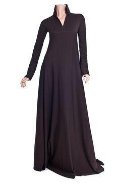 Hijab Fashion 2016/2017: abaya   Home / Abayas & Jilbabs / Winter Warmers Abaya