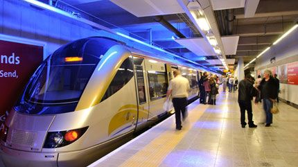 The Gautrain will take you around Joburg #Gautrain #Joburg
