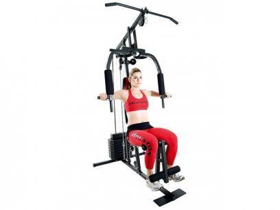 Estação de Ginástica Houston Home Gym EG15A - 15 Tipos de Exercícios Torre de Pesos com 36,8kg com as melhores condições você encontra no Magazine Simply. Confira!