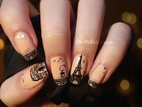 Paris nails - Best 25+ Paris Nails Ideas Only On Pinterest Paris Nail Art