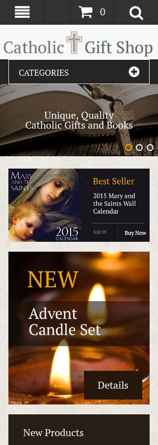 Religious website inspirations at your coffee break? Browse for more Magento #templates! // Regular price: $179 // Sources available: .PSD, .XML, .PHTML, .CSS #Religious #Magento