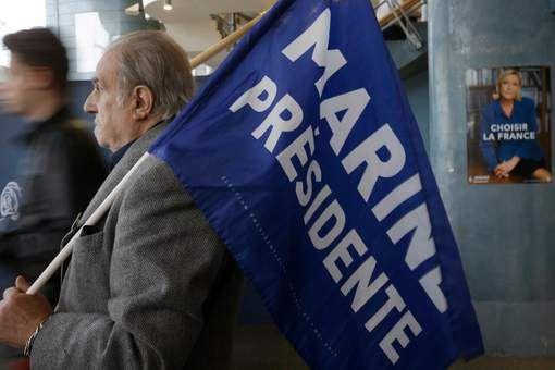 In de peilingen voorafgaande aan de tweede ronde van de Franse presidentsverkiezingen heeft Macron een redelijke voorsprong.