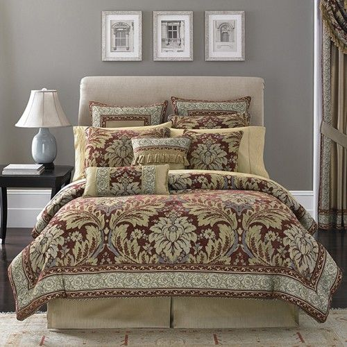 Croscill Fresco King Comforter Set By Croscill Bedding: The Home Decorating  Company