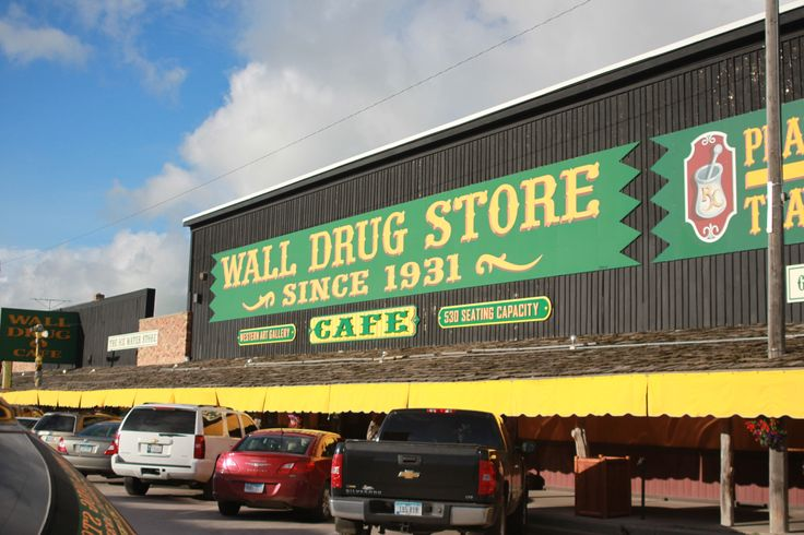 the famous wall drug store in south dakota after driving on wall drug south dakota id=33417